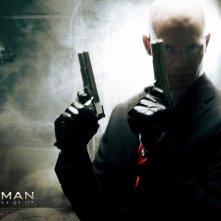 Wallpaper del film Hitman - L'assassino con Timothy Olyphant