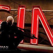 Un suggestivo wallpaper del film Hitman - L'assassino