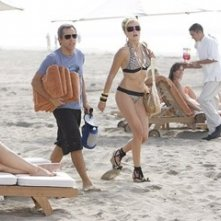 Ben Stiller e Malin Akierman in una scena della commedia Lo spaccacuori.