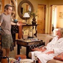 Ben Stiller e Malin Akierman in una sequenza de Lo spaccacuori.