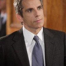 l'attore Ben Stiller in una scena de Lo spaccacuori.