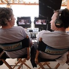 Bobby e Peter Farrelly sul set de Lo Spaccacuori.