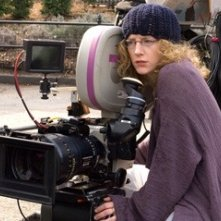 Kirsten Sheridan sul set del film August Rush