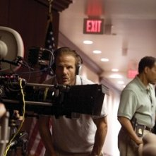 Peter Berg sul set del film The Kingdom