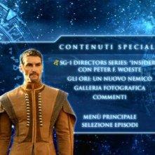 Stargate SG-1, stagione 10: il menù dei contenuti speciali del disco 1