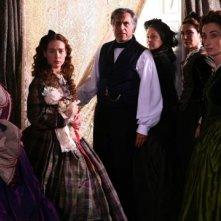 Lando Buzzanca con Cristiana Capotondi in una scena de I vicerè
