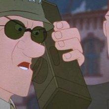 Un'immagine tratta dal film Il gigante di ferro