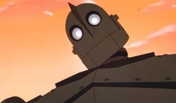 Il protagonista del film Il gigante di ferro