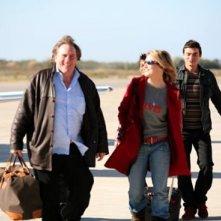 Gerard Depardieu in una scena del film L'Abbuffata