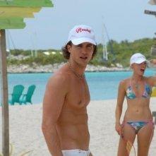 Raffaello Balzo in una scena del film Matrimonio alle Bahamas