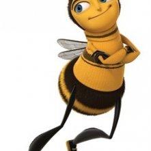 Scarpe da tennis e capelli all'ultima moda per il protagonista di Bee Movies