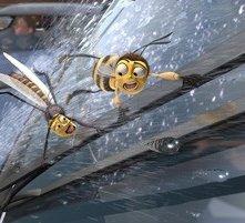 Due protagonisti del film Bee Movie