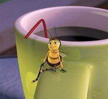 Una divertente immagine del film Bee Movie
