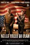 La locandina italiana di Nella valle di Elah