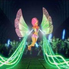 Una delle magiche protagoniste del film Winx - Il segreto del regno perduto