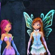 Una scena del film d'animazione Winx - Il segreto del regno perduto
