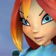 Una sequenza del film d'animazione Winx - Il segreto del regno perduto