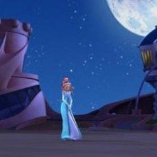 scena del film d'animazione Winx - Il segreto del regno perduto