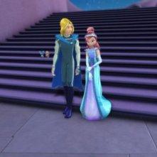 sequenza del film d'animazione Winx - Il segreto del regno perduto