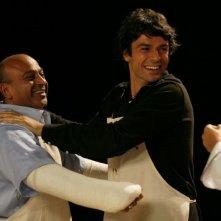 Luca Argentero in una sequenza della commedia sentimentale Lezioni di Cioccolato