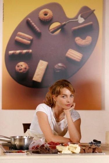 Violante Placido in una scena di Lezioni di Cioccolato