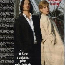 Giulio Berruti e Sarah Maestri sulle pagine del magazine Chi.