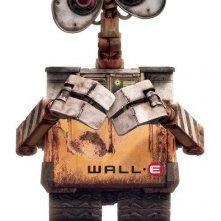 L'irresistibile protagonista di Wall-E in una locandina del film