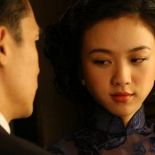 Tony Leung e Wei Tang in Lust, Caution