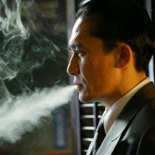 Tony Leung in una scena del film Lust, Caution