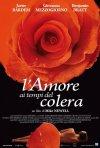 La locandina italiana di L'amore ai tempi del colera