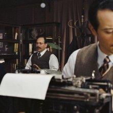 Stefano Accorsi in una scena del film Triplice Inganno