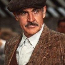 Sean Connery in una scena de Gli Intoccabili.