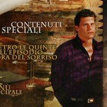 La schermata dei contenuti speciali di un disco della quinta stagione di Angel