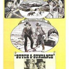 La locandina di Il Ritorno di Butch Cassidy e Kid