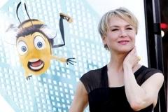 Renée Zellweger presenta Bee Movie