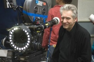 David Cronenberg sul set del film La promessa dell'assassino