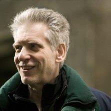 David Cronenberg sul set de La promessa dell'assassino