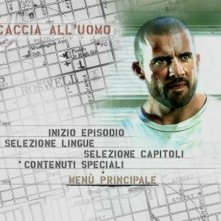 Il menù di un episodio del primo disco di 'Prison Break . Stagione 2 (Vol.1)'