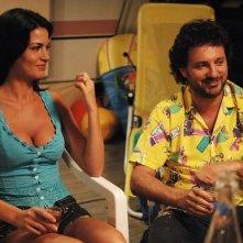 La Torrisi insieme a Pieraccioni in Una moglie bellissima.