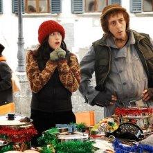 Massimo Ceccherini in una scena di Una moglie bellissima (2007)