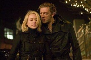 Naomi Watts e Vincent Cassel in una scena de La promessa dell'assassino