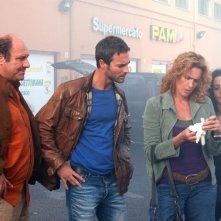 Lucrezia Lante della Rovere, Stefano Masciarelli, Flavio Montrucchio e Anna Ammirati in una scena di 'Donna detective'