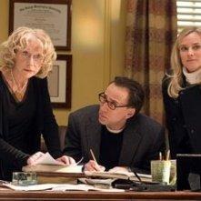Nicolas Cage con Diane Kruger ed Helen Mirren in una sequenza del film National Treasure 2: Il Mistero delle pagine perdute