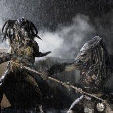 Una sequenza di Alien vs. Predator 2 con il mostro