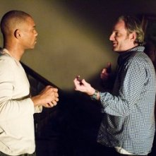 Will Smith e Francis Lawrence sul set di Io sono leggenda