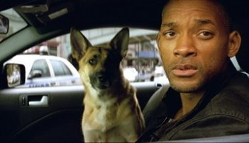 Will Smith in un'immagine di Io sono leggenda (I Am Legend)