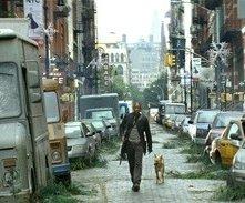 Will Smith in un'immagine di Io sono leggenda (I Am Legend, 2007)