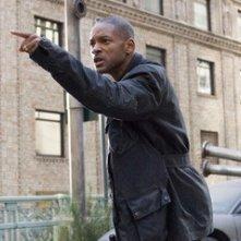 Will Smith in una sequenza di Io sono leggenda un film diretto da Francis Lawrence del 2007