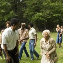 Denzel Washington e Ruby Dee in una scena del film American Gangster