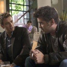 Ewan McGregor accanto a Colin Farrell in una scena di Sogni e Delitti